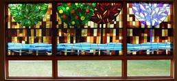 ויטראז' ארבע העונות במסעדה
