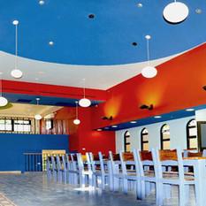 חדר אוכל והספריה
