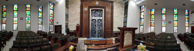 ויטראז'ים בית כנסת מקור חיים באשדוד
