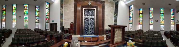 ויטראז'ים בית כנסת מקור ברוך באשדוד