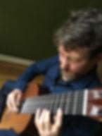 Steve Gibbs 8 string classical guitarist