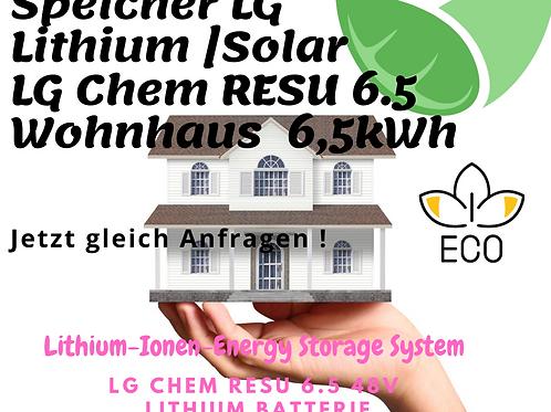 Speicher   LG Chem RESU 6.5 48V   Lithium Batterie