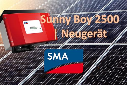 SMA | Sunny Boy 2500 | Neugerät