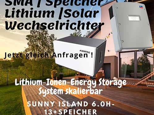 Energiespeicher | AXISTORAGE LI 7S 6,8 KWH) + 1X SI 6.0H