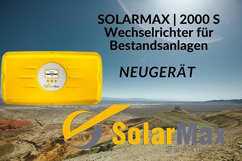 Solarmax | 2000S | Wechselrichter