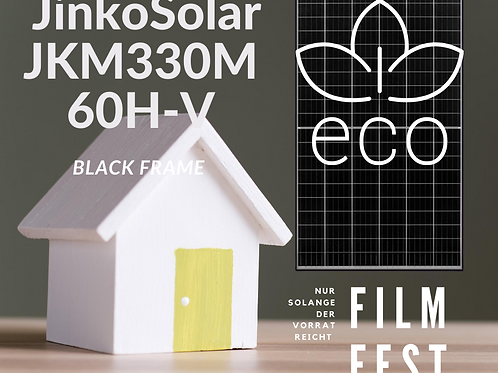 Solarmodule   Jinko Solar   JKM330M-60H-V   Schwarzer Rahmen