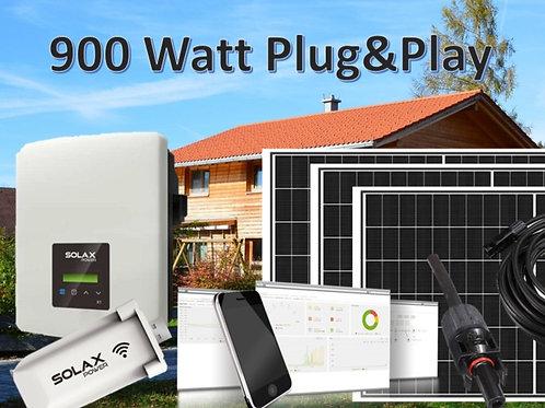 Bausatz | Solar-Set 900 Watt | Wechselrichter undModule