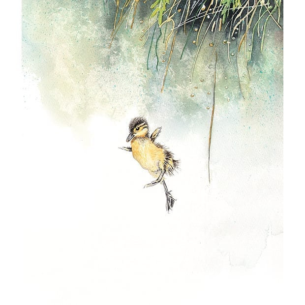 Leap of faith #watercolours #artistsonin