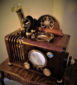 Steampunk Donation Box