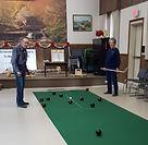 Carpet bowling