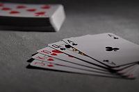Cribbage, playing cards
