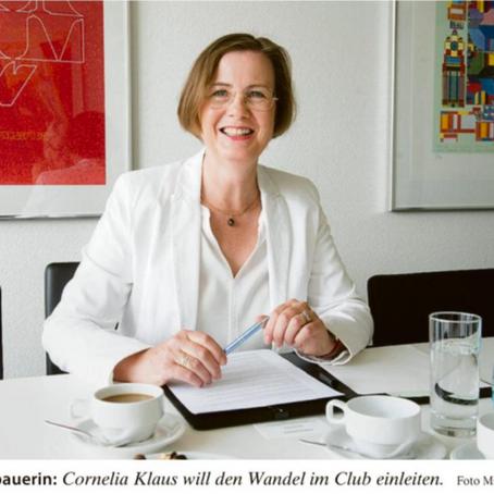 Cornelia Klaus ist neue Präsidentin des IWC