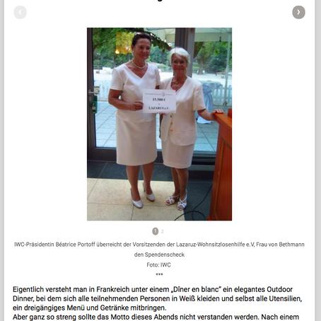 The International Women's Club of Frankfurt e. V. engagiert sich für soziale Projekte