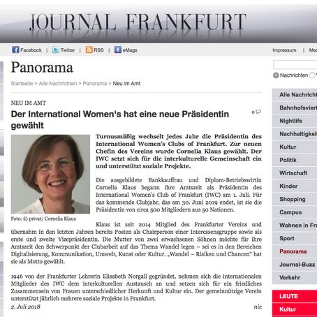 Der International Women's hat eine neue Präsidentin gewählt