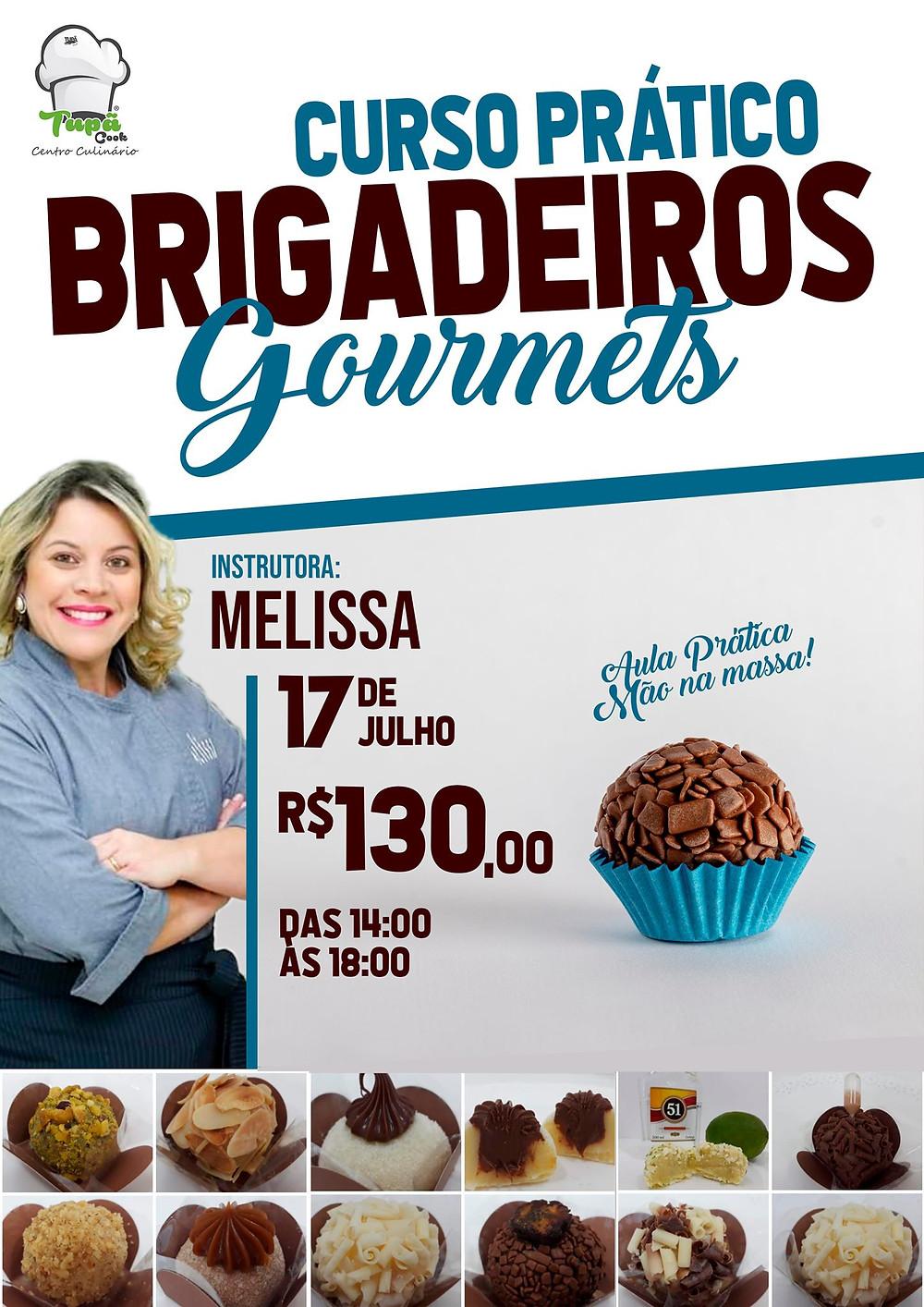AULA PRÁTICA DE BRIGADEIROS GOURMET