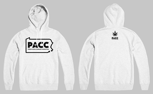 State Connection Logo Hoodie (Ash Grey)