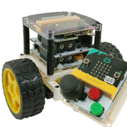 Muselab Rover Car Set (Without micro:bit)