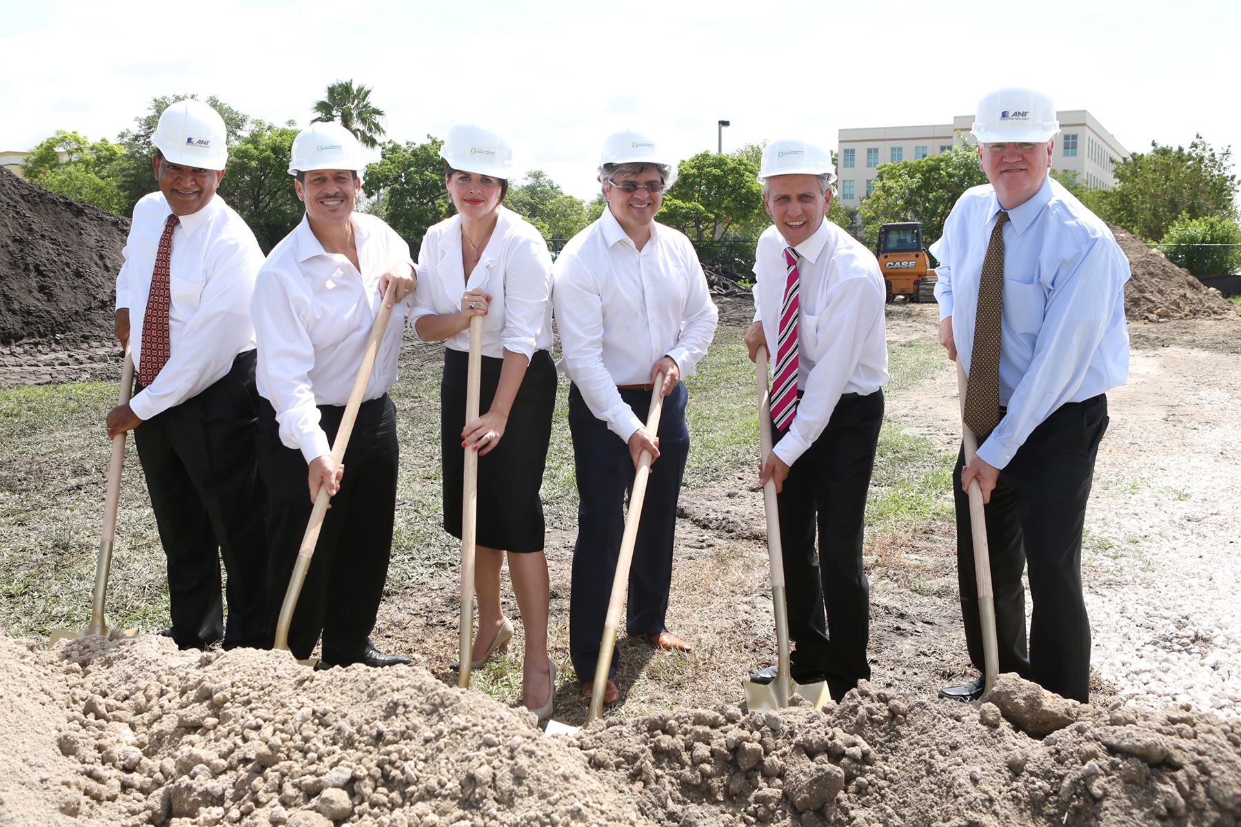 Ground breaking In Miami