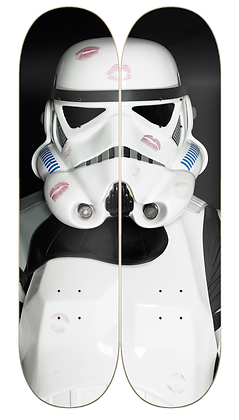 TROOPER KISSES Deck Art