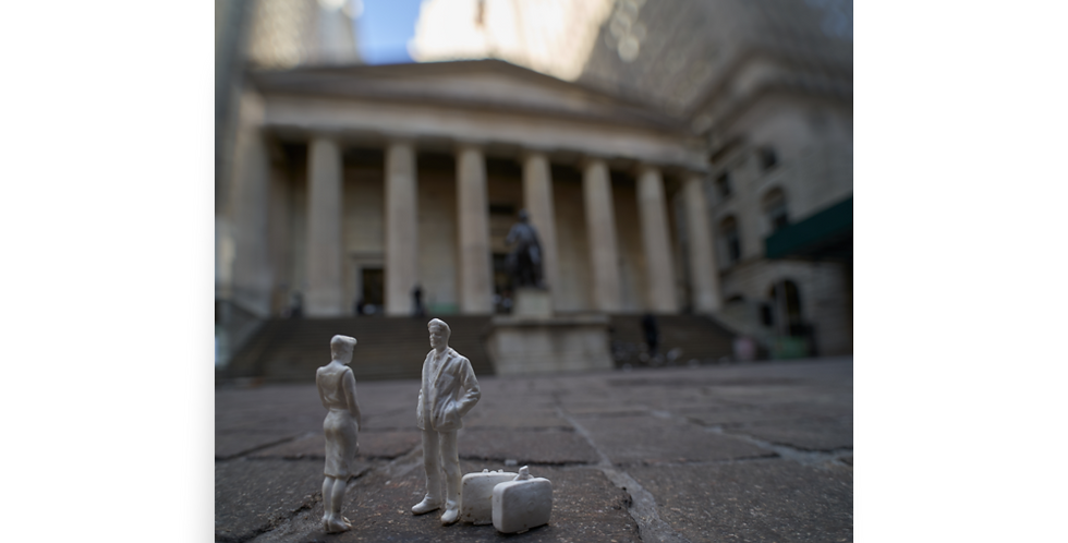 Funny To Run Into You Here... Federal Hall Edition