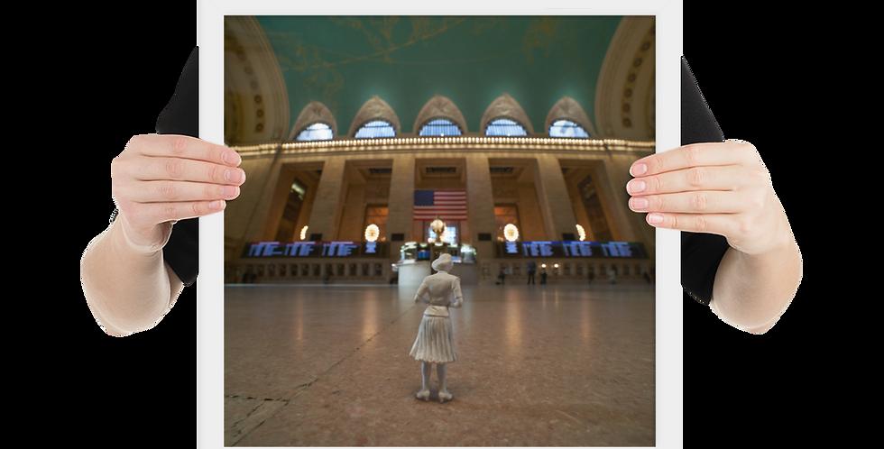 Grand Central Contemplation ... (framed)