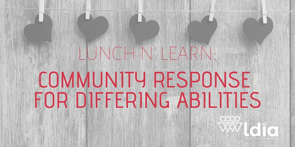 Community Response for Differing Abilities