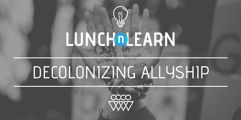 Decolonizing Allyship