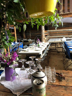 Table Layout in Barn