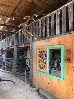 Back of the Barn up to Mezzanine