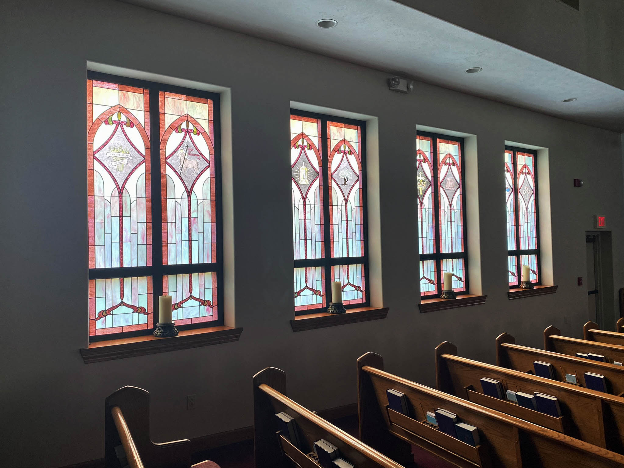 east windows