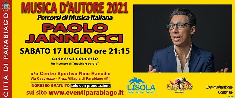 Musica d'Autore 2021 - Paolo Jannacci
