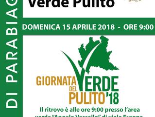 15 Aprile - 'Giornata del Verde Pulito 2018': iniziativa per la salvaguardia dell'ambiente rivol