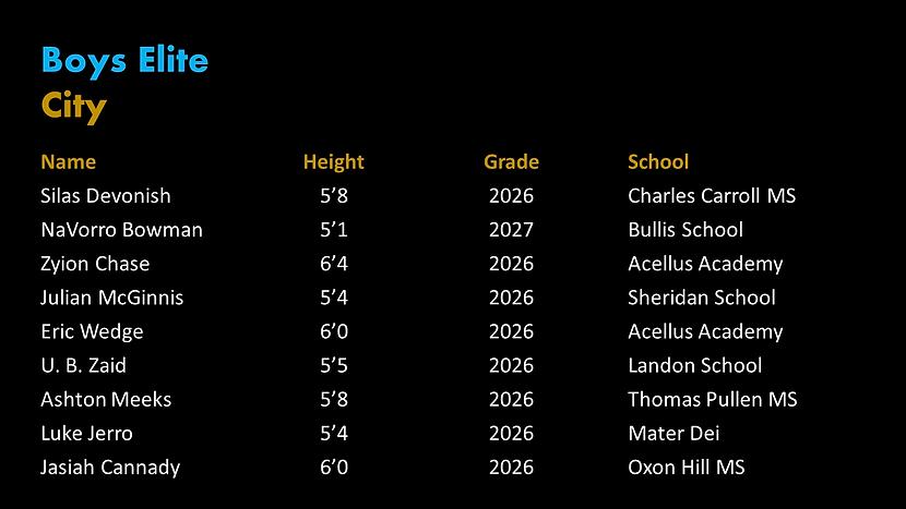 City Boys Elite Roster.png