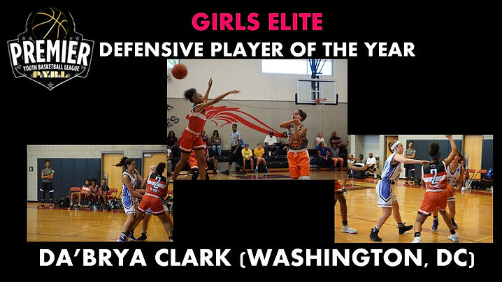 Girls Elite Defensive Player of the Year