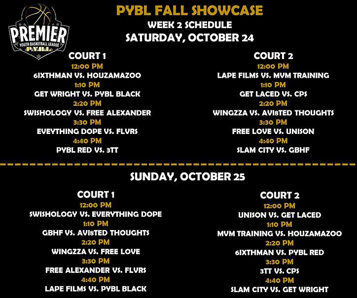 PYBL Fall HS Week 2 Schedule.jpg