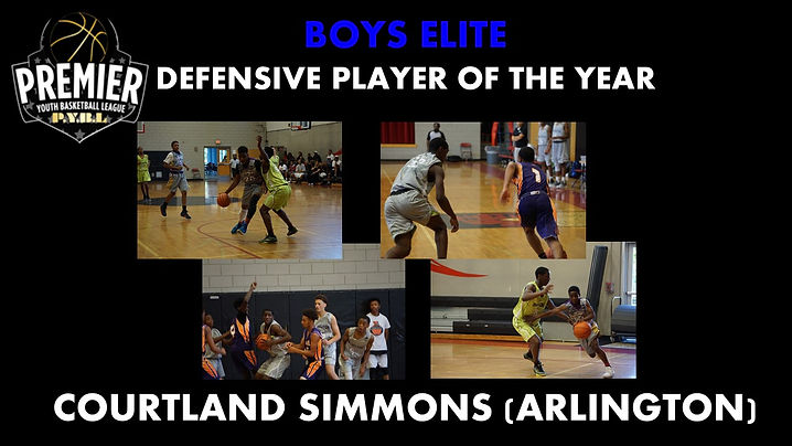Boys Elite Defensive Player of the Year