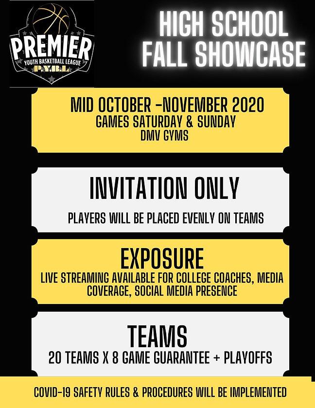 PYBL Fall Showcase
