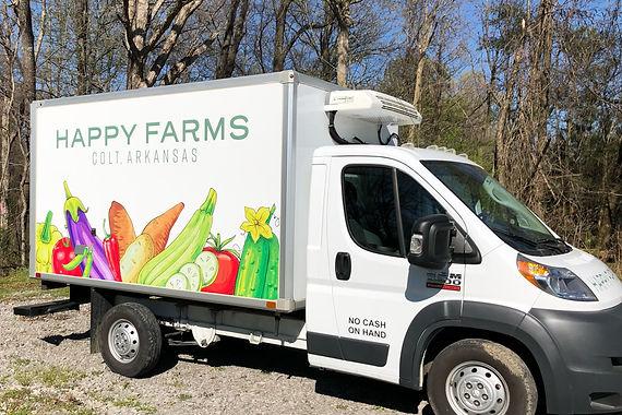 Box Truck Decal | Happy Farms