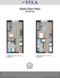 La Tela | Studio Floor Plans