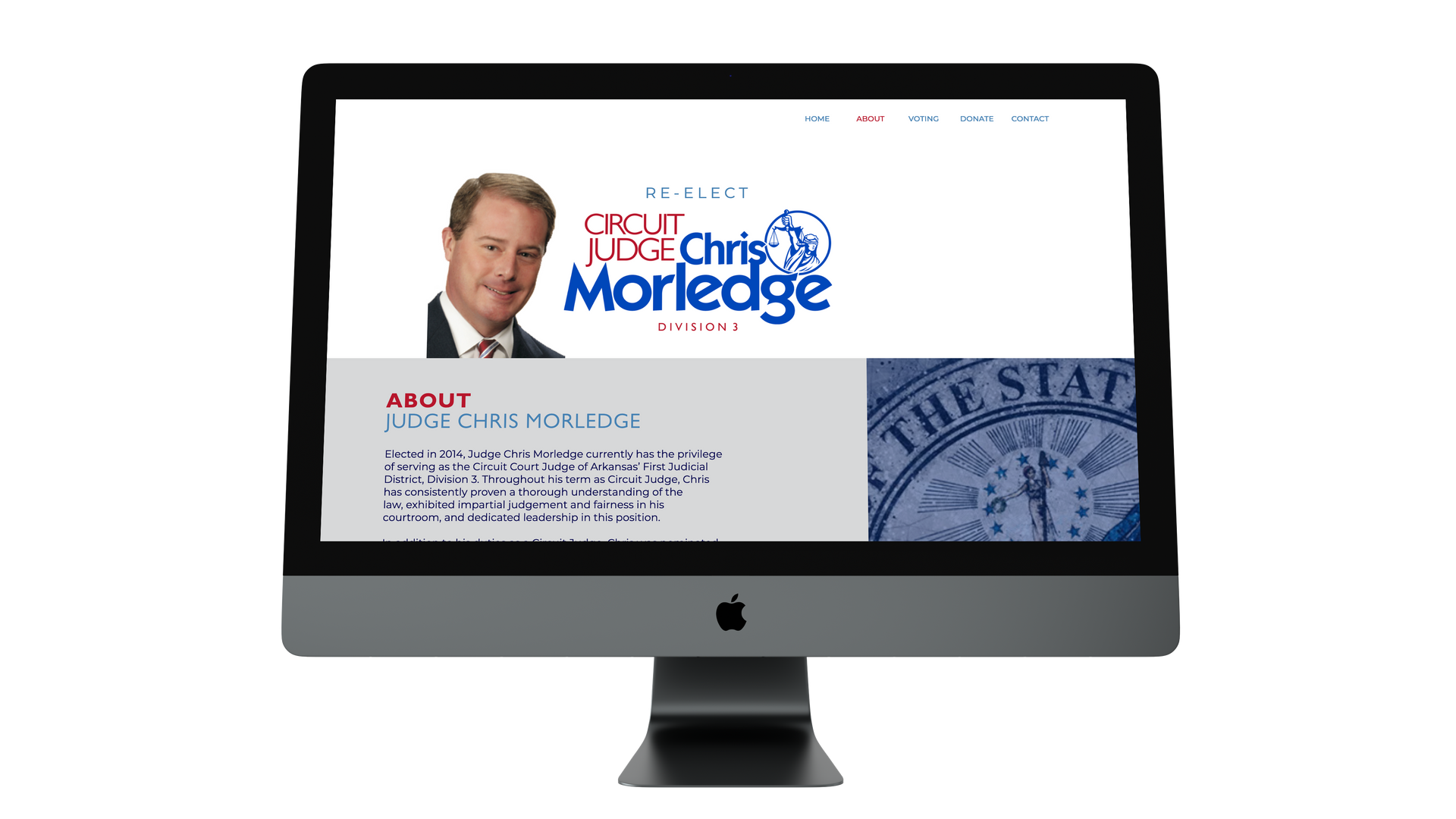 Judge Chris Morledge