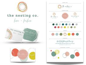Bird Nest Brand Design Kit