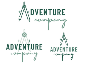 Modern Compass Logo Kit