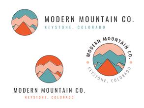 Modern Mountain Logo Kit