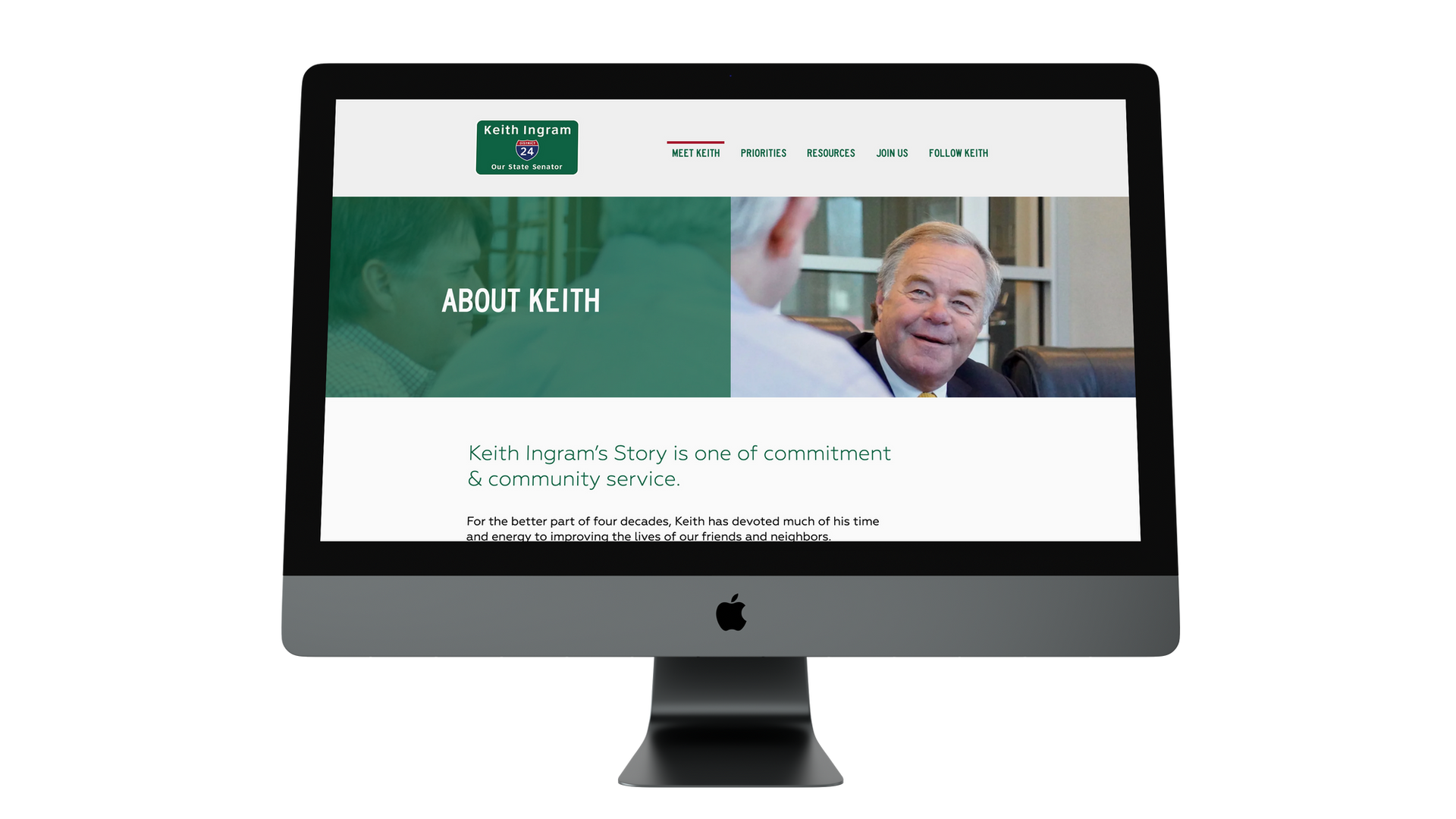 Senator Keith Ingram