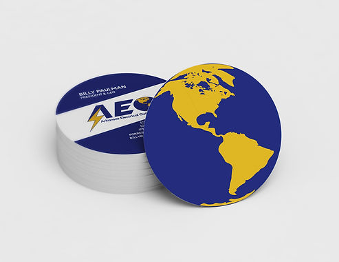 Circle Business Cards   AEO