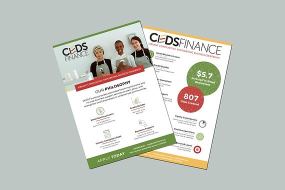 Promo Flyers | CEDS Finance