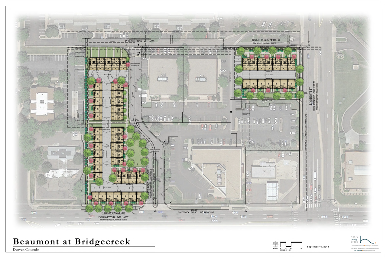 BRIDGECREEK SITE PLAN