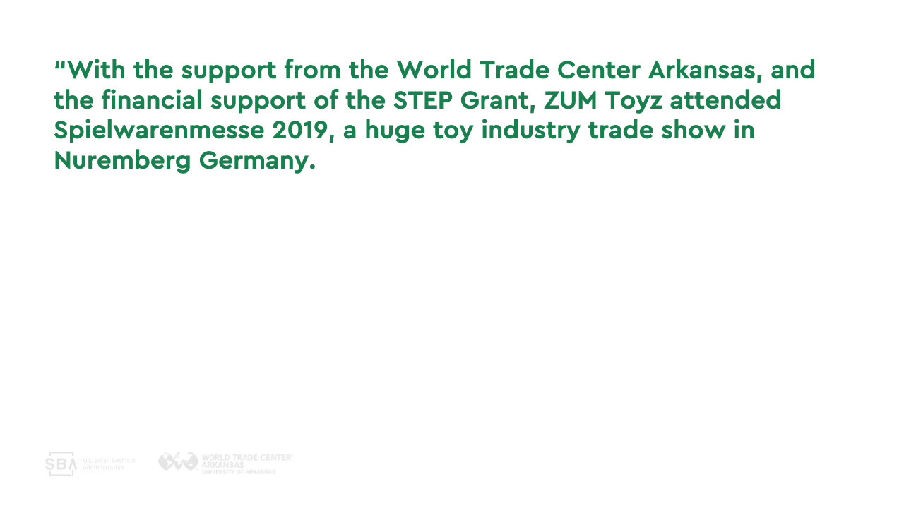 State Trade Expansion Program (STEP) Grant 10 Year Anniversary