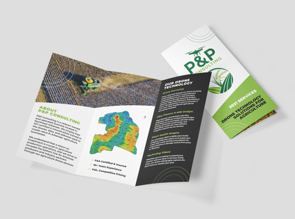 Trifold Marketing Brochure   P&P Consulting