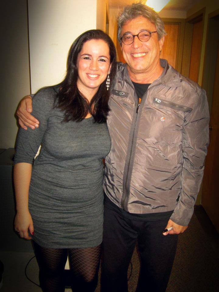 With Ivan Lins